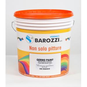 GERMOPAINT pittura antimuffa traspirante fungo-battericida per interni 15 l Barozzi