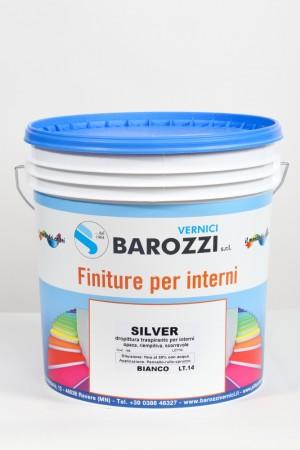 SILVER idropittura traspirante per interni opaca 14 l Barozzi