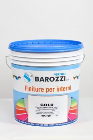 GOLD idropittura traspirante per interni ad elevata copertura 14 l Barozzi
