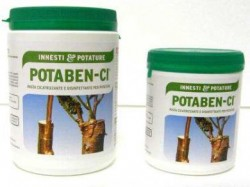 "Potaben ""Ci"" Pasta cicatrizzante disinfettante per potature 1 kg Agrichem Barozzi"