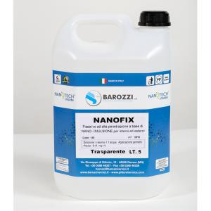 NANOFIX fissativo nanotecnologico 5,0 litri Barozzi