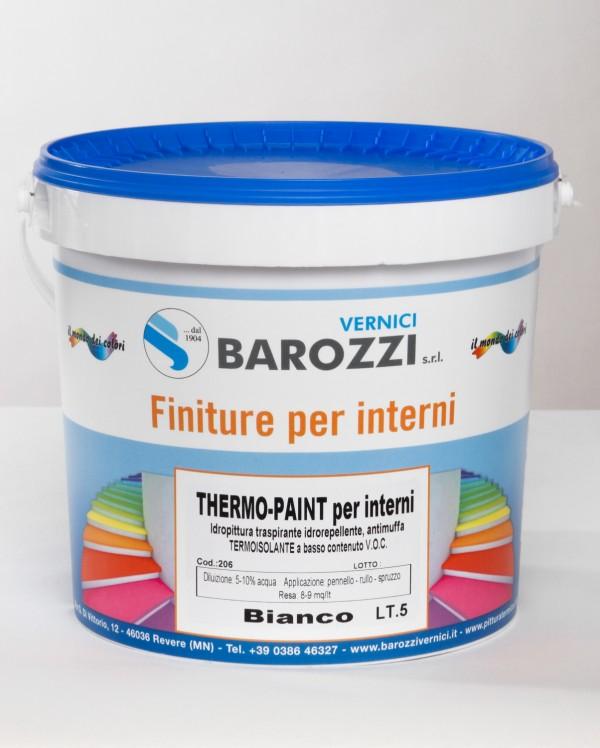 Pitture Termiche Per Interni.Thermo Paint Idro Pittura Antimuffa Termica Isolante