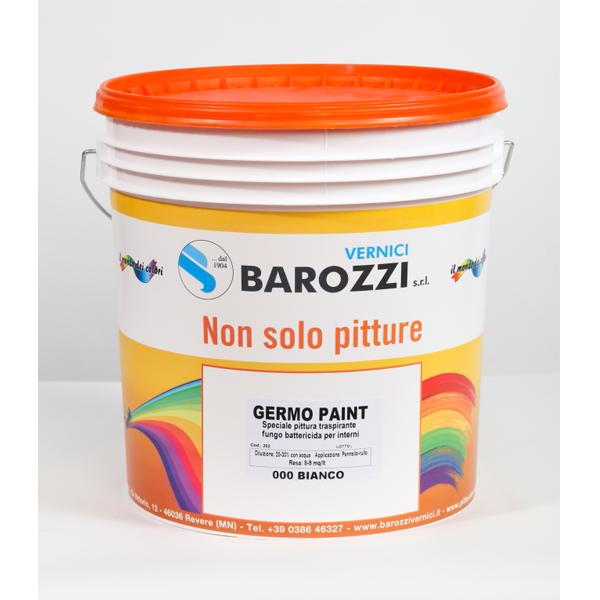 Colore Traspirante Per Interni.Germopaint Pittura Antimuffa Traspirante Fungo Battericida Per